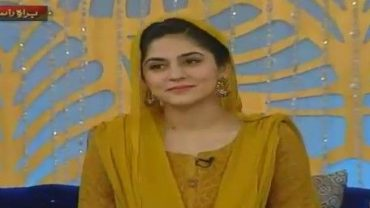 Watch The Morning Show with Sanam Baloch (Shan-e-Sehar) on Ary News – 18 June 2016