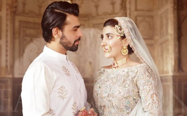 Farhan Saeed and Urwa Hocane's wedding photos