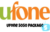 Ufone 5050 offer (Asli Chappar Phaar Offer) - Package details