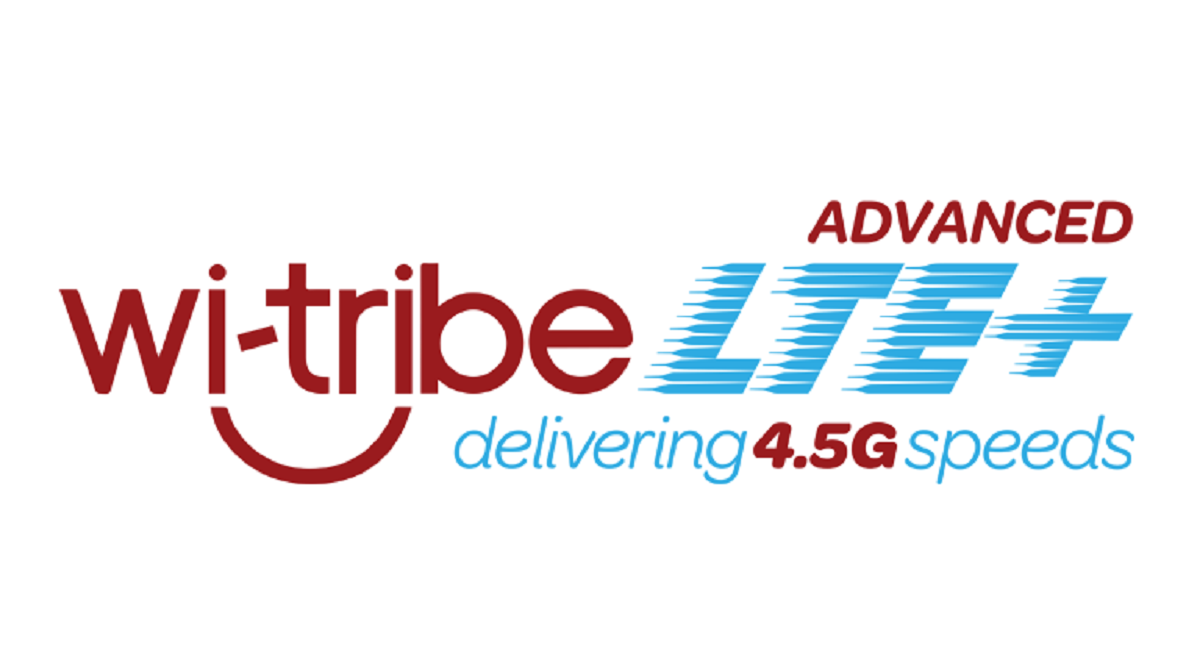 wi-tribe 4.5G LTE-Advanced Speed Test Result