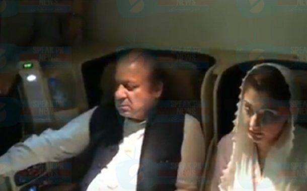Nawaz Sharif and Maryam Nawaz arrested upon their return to Pakistan