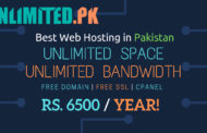 Unlimited Web Hosting in Pakistan | Unlimited Space | Unlimited Bandwidth | Free .COM domain name